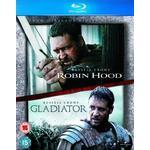 Blu ray robin hood Filmer Robin Hood / Gladiator Double Pack [Blu-ray][Region Free]
